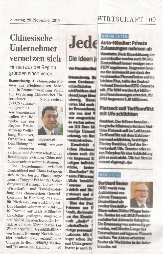 Braunschweig Zeitung 28.11
